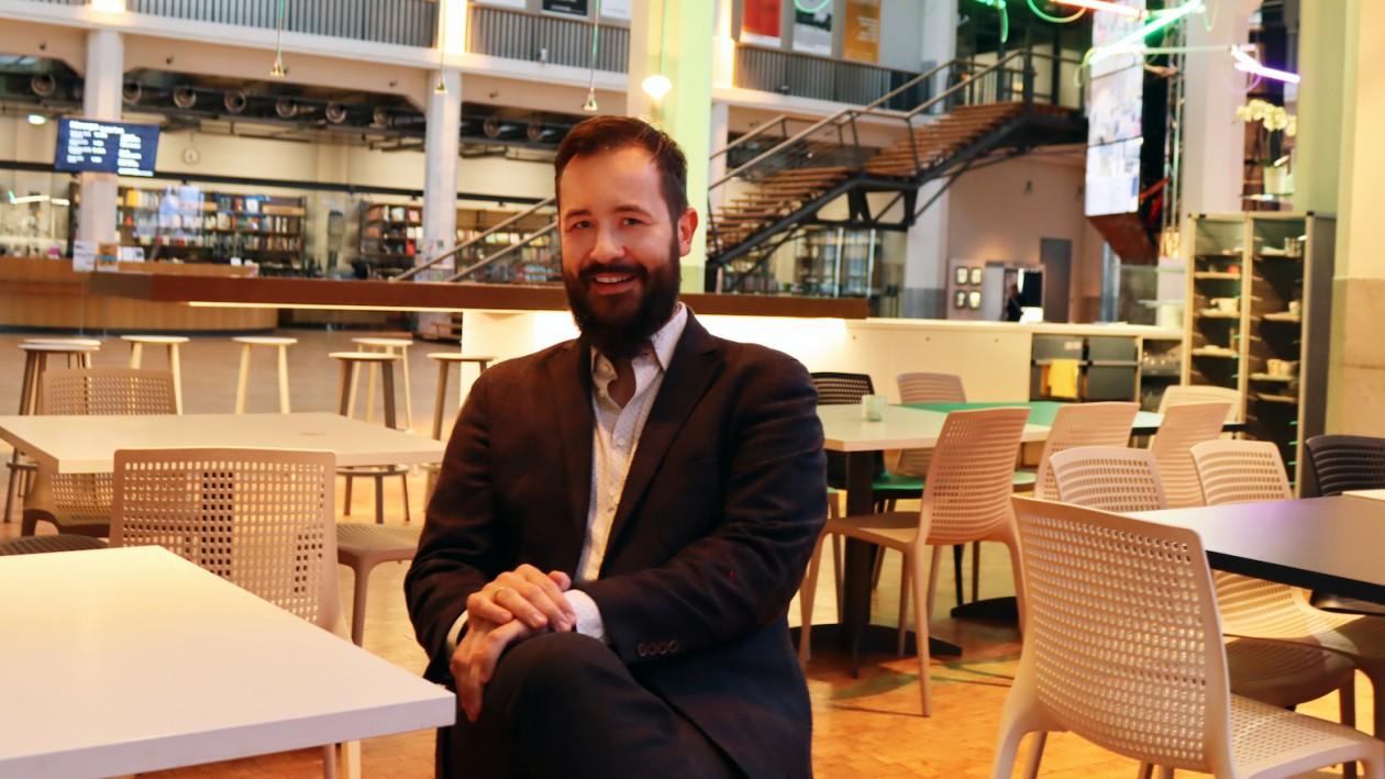 Michael Reich leitet die Regionalgruppe Karlsruhe der Giordano-Bruno-Stiftung