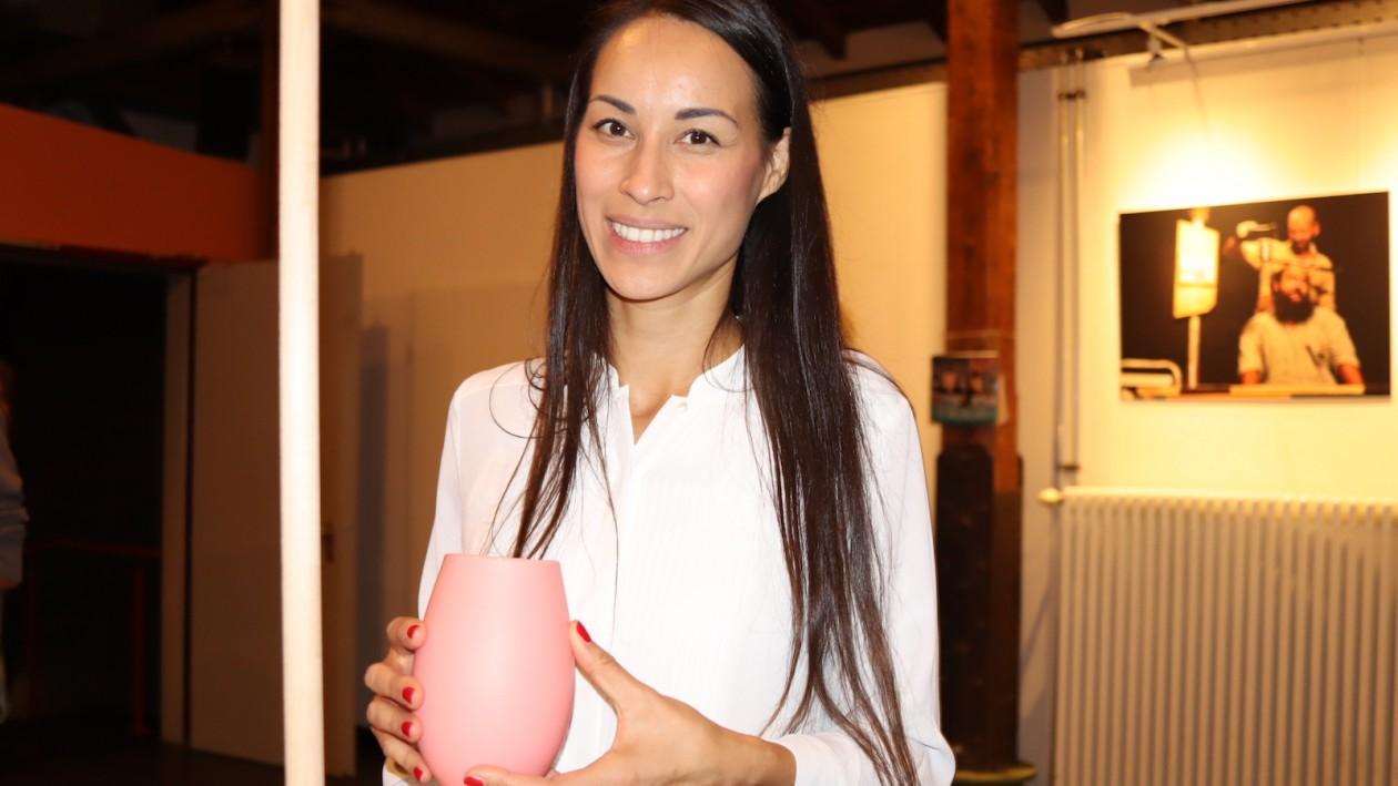 Kerstin Hendik vom Label Monâne beim Kreativ-Event 7x7