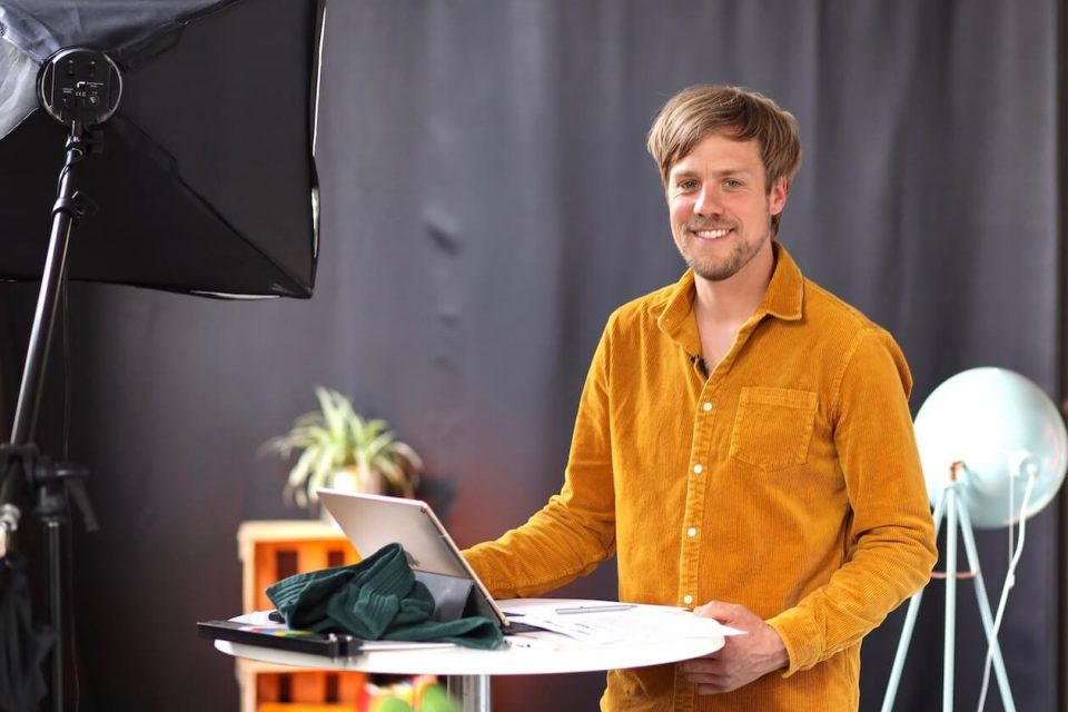 Theaterpädagoge Rob Doornbos aus Karlsruhe