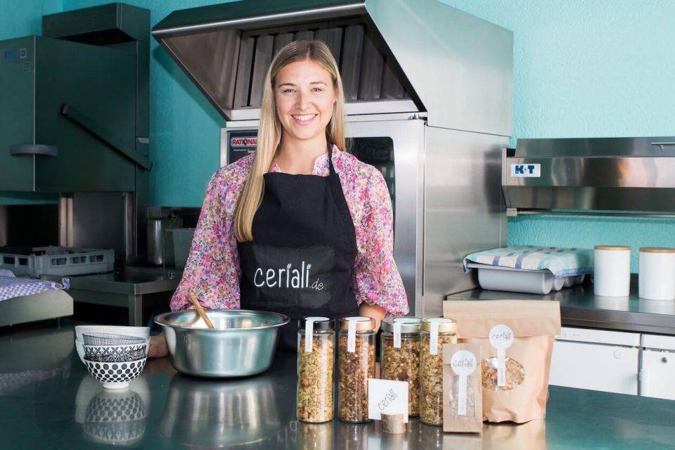 Ceriali-Gründerin Tanja Sies im Q Kaffee