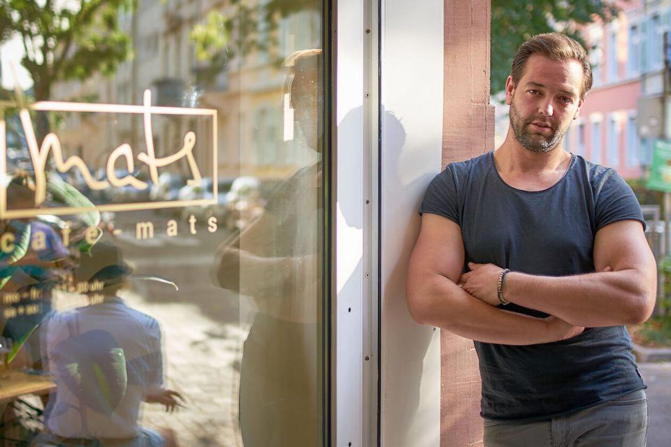 Matthias Mußler vom Café Mats
