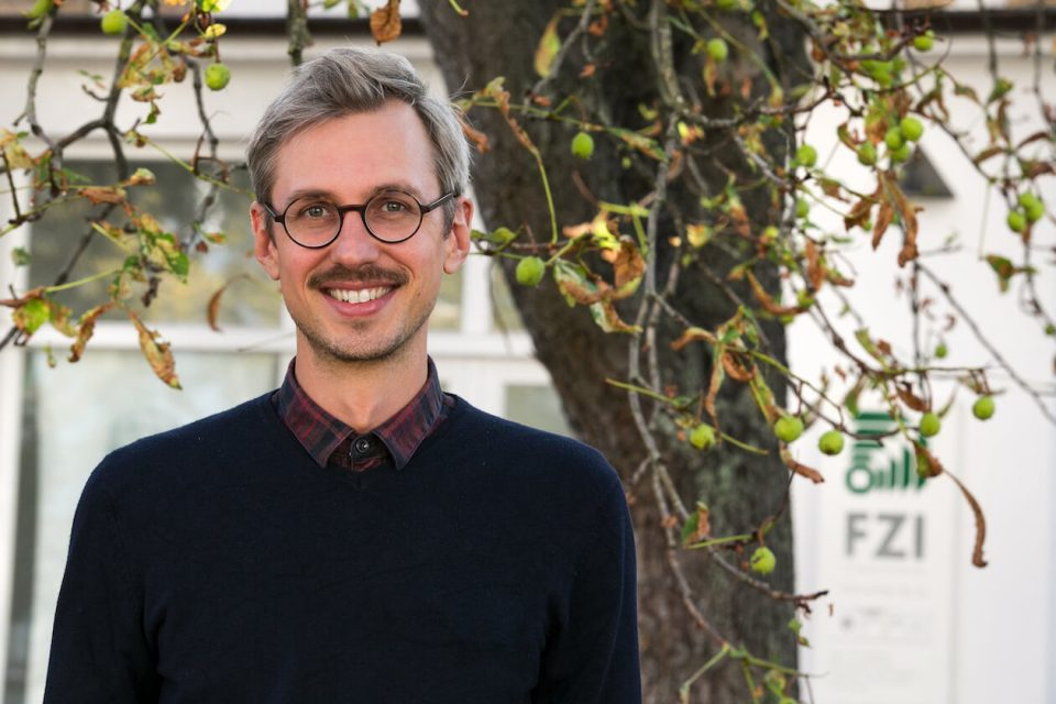 Daniel Walther vom FZI in Karlsruhe