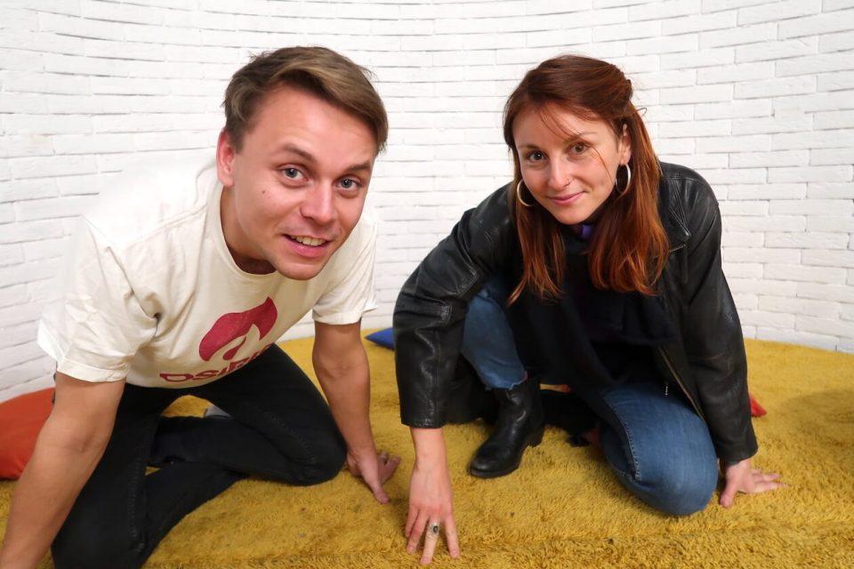 Paul Erhardt und Jana Lalovic