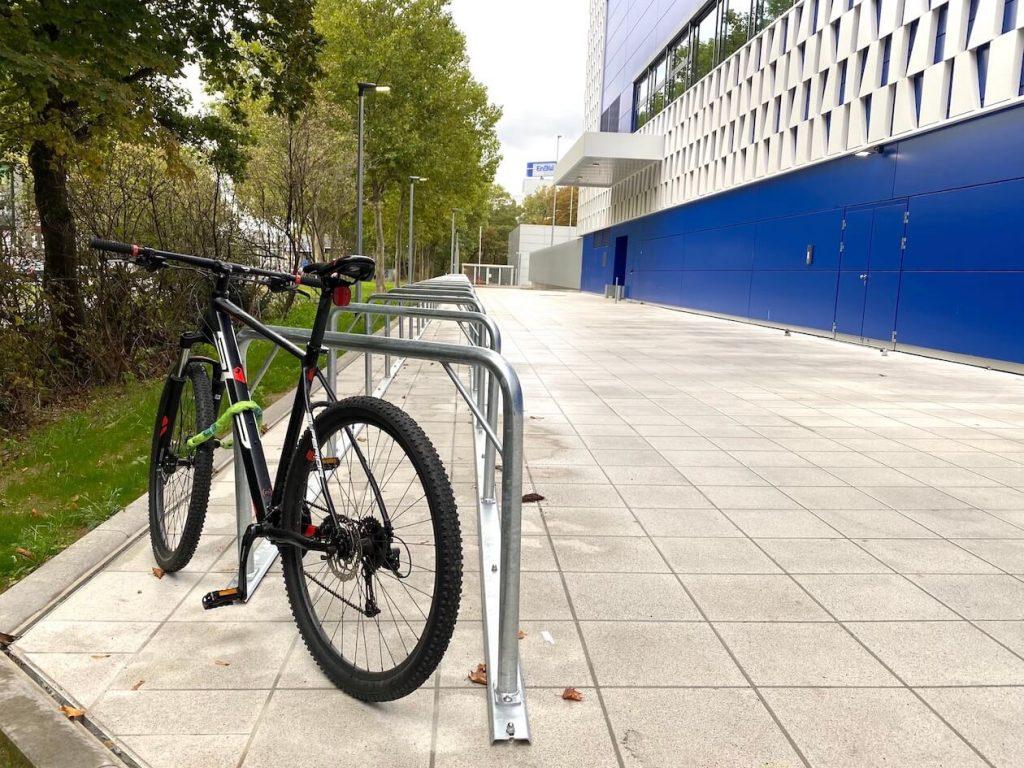 Fahrradständer bei Ikea in Karlsruhe