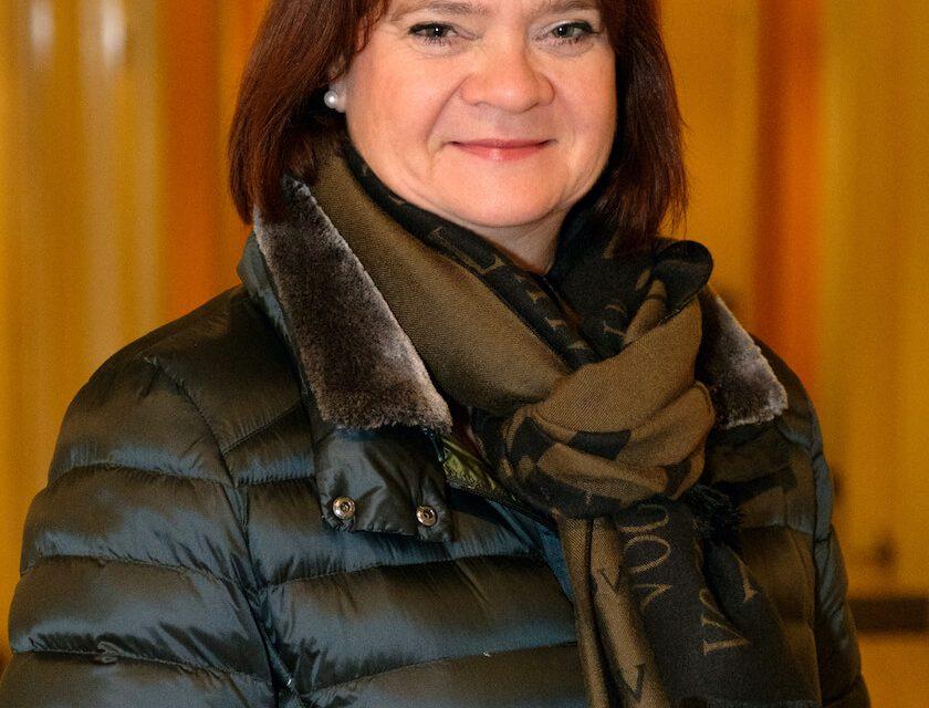 Petra Lorenz ist OB-Kandidatin für Karlsruhe