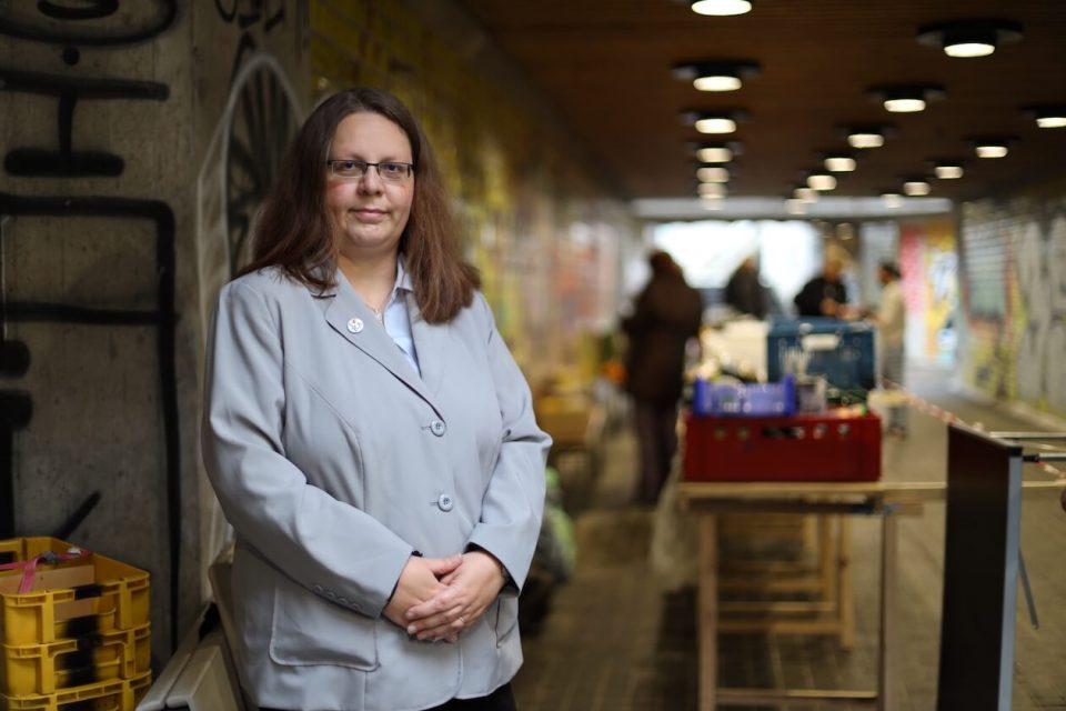 Vanessa Schulz besucht Herzprojekt Karlsruhe