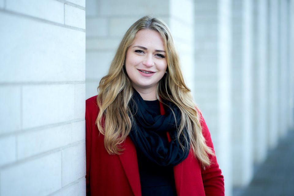 WJ-Vorsitzende Jasmin Jurtan aus Karlsruhe