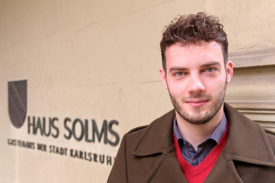 Marc Nehlig ist OB-Kandidat für Karlsruhe