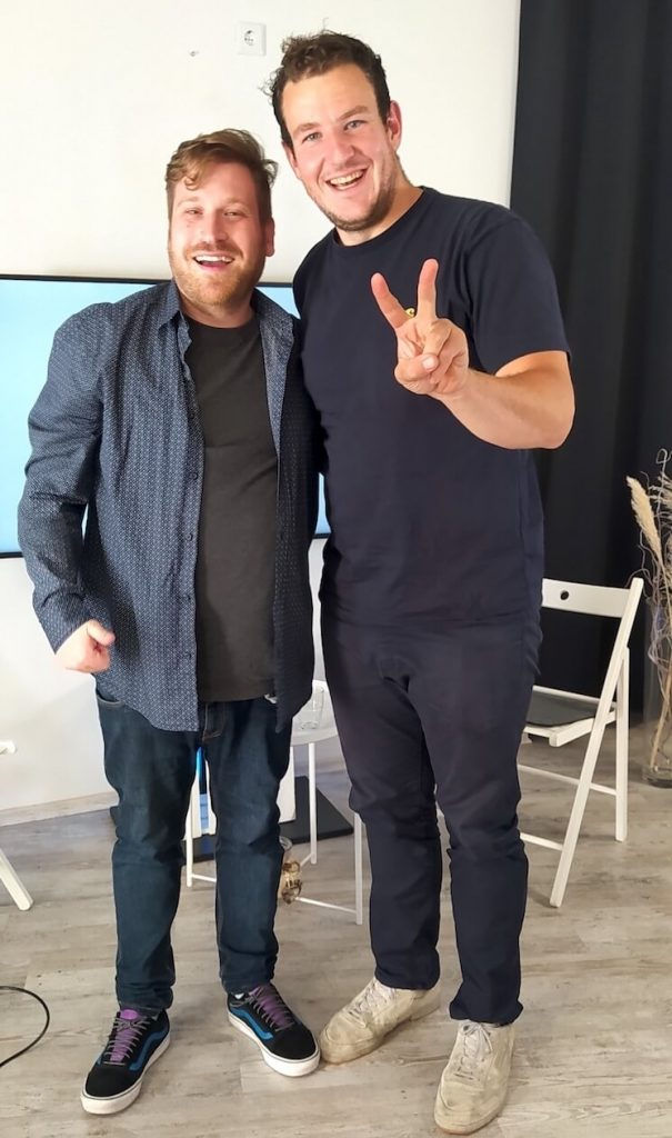Markus Lang und Paul Gärtner