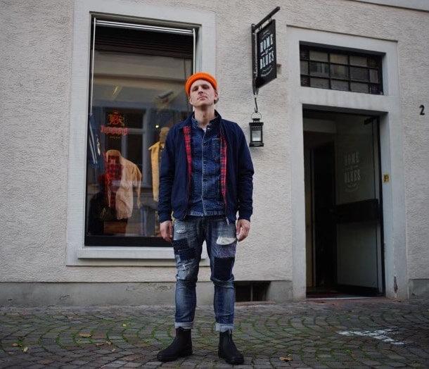 Shop-Besitzer Daniel Wenk aus Karlsruhe