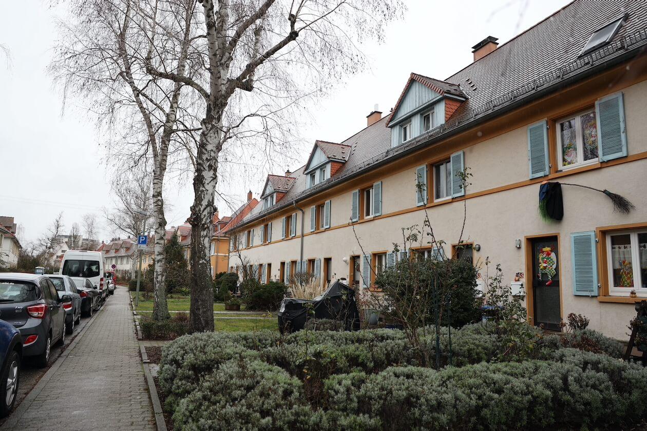 Die Gartenstadt in Karlsruhe