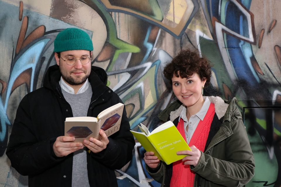 Michael Nordhardt und Claudia Kornmeier in Karlsruhe