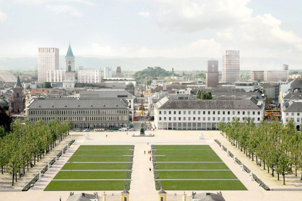Stadt-Silhoutte von Max Dudler Architekten