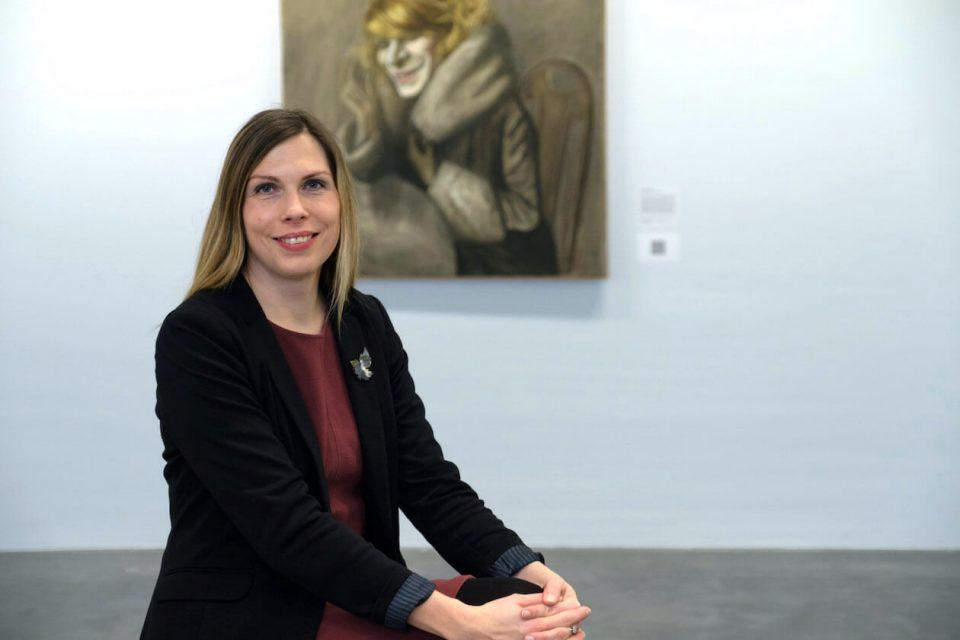 Stefanie Patruno leitet die Städtische Galerie Karlsruhe