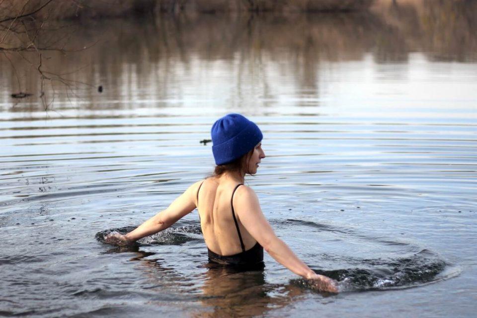 Svetlana Dineva geht in den Fermasee