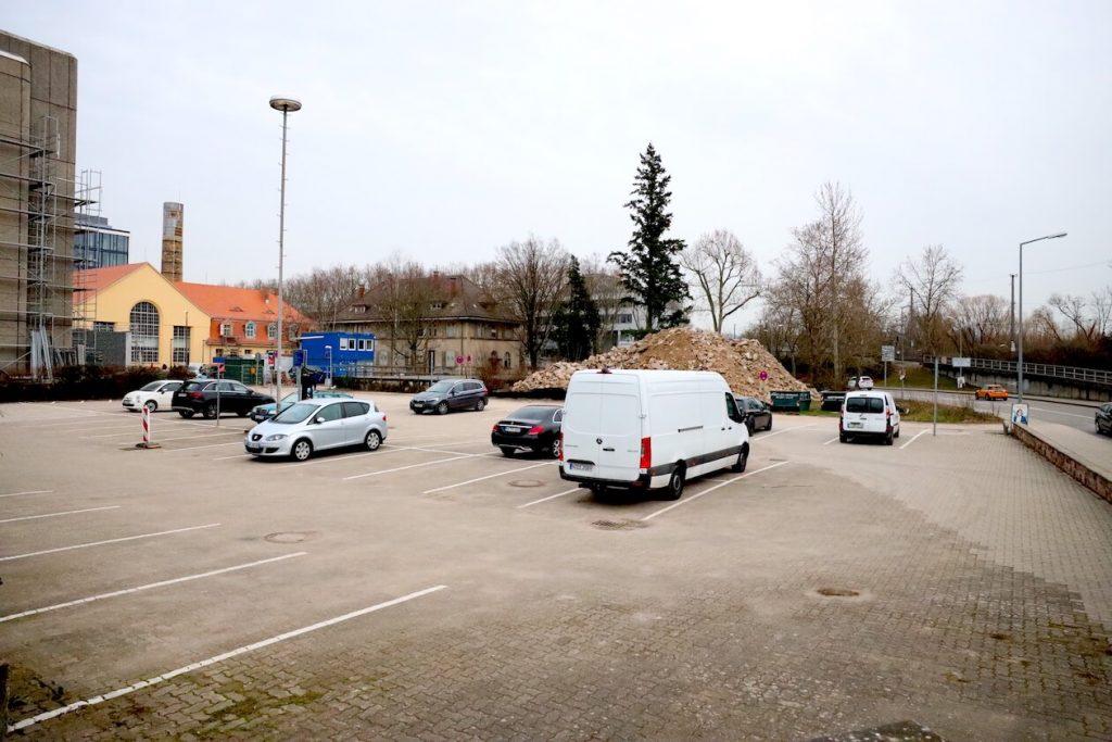 Bauplatz für das Schwarzwald-Trio