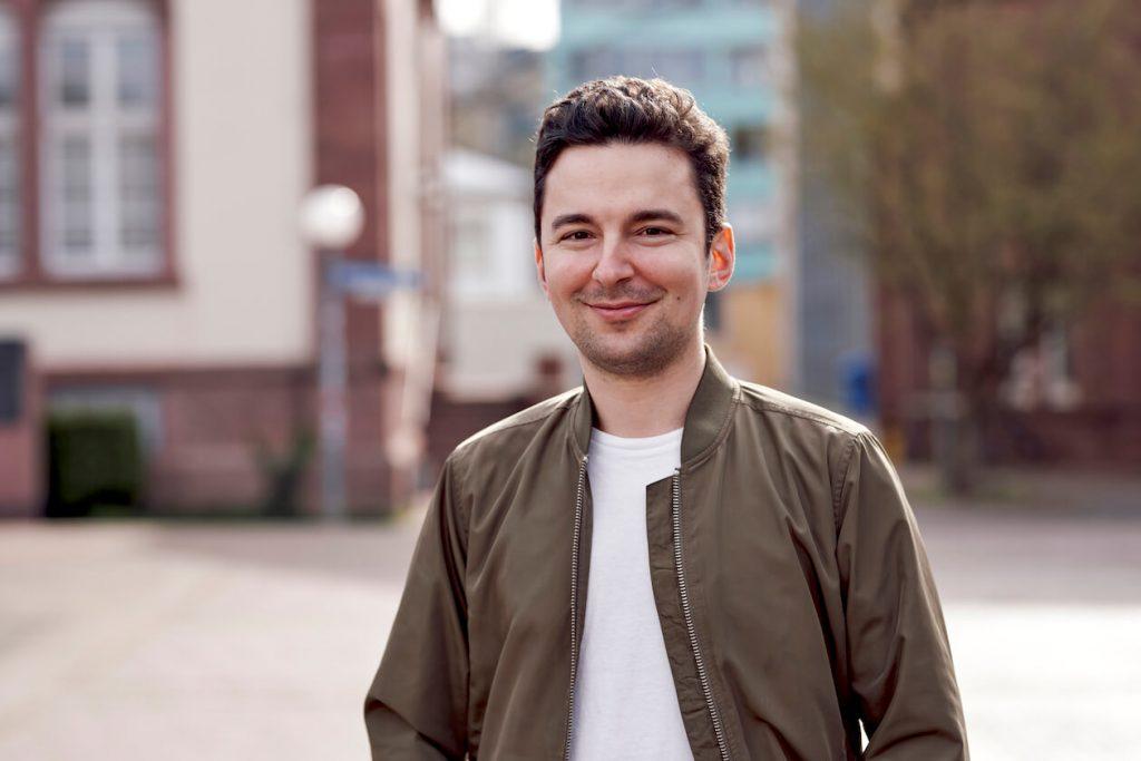 Jonas Lerch vom Start-up Articlett