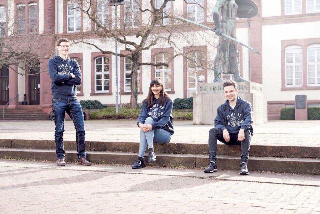 Team von Articlett auf dem KIT-Campus in Karlsruhe