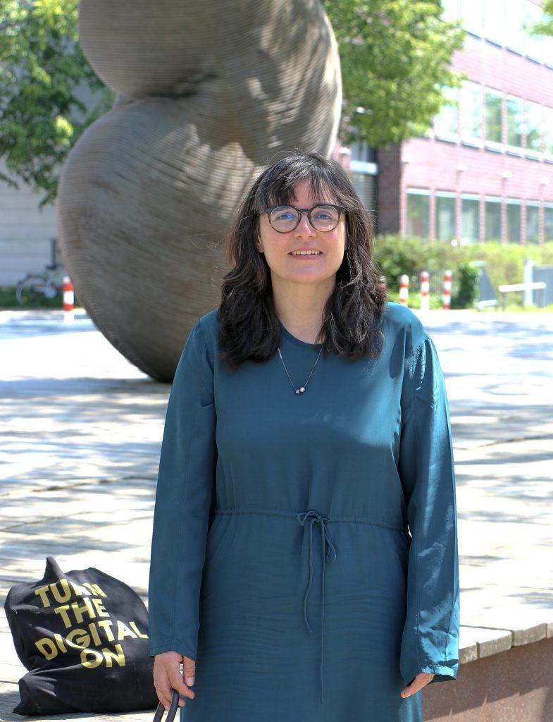 Kunsthistorikerin Carmen Beckenbach