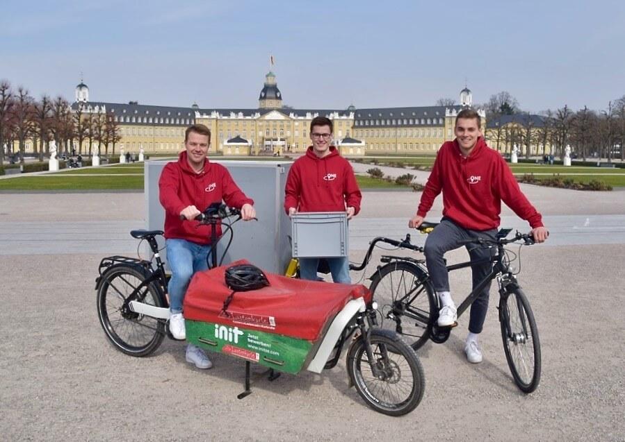Lukas Wagner, Jannik Nefferdorf und Han Völker von TheLocalOne